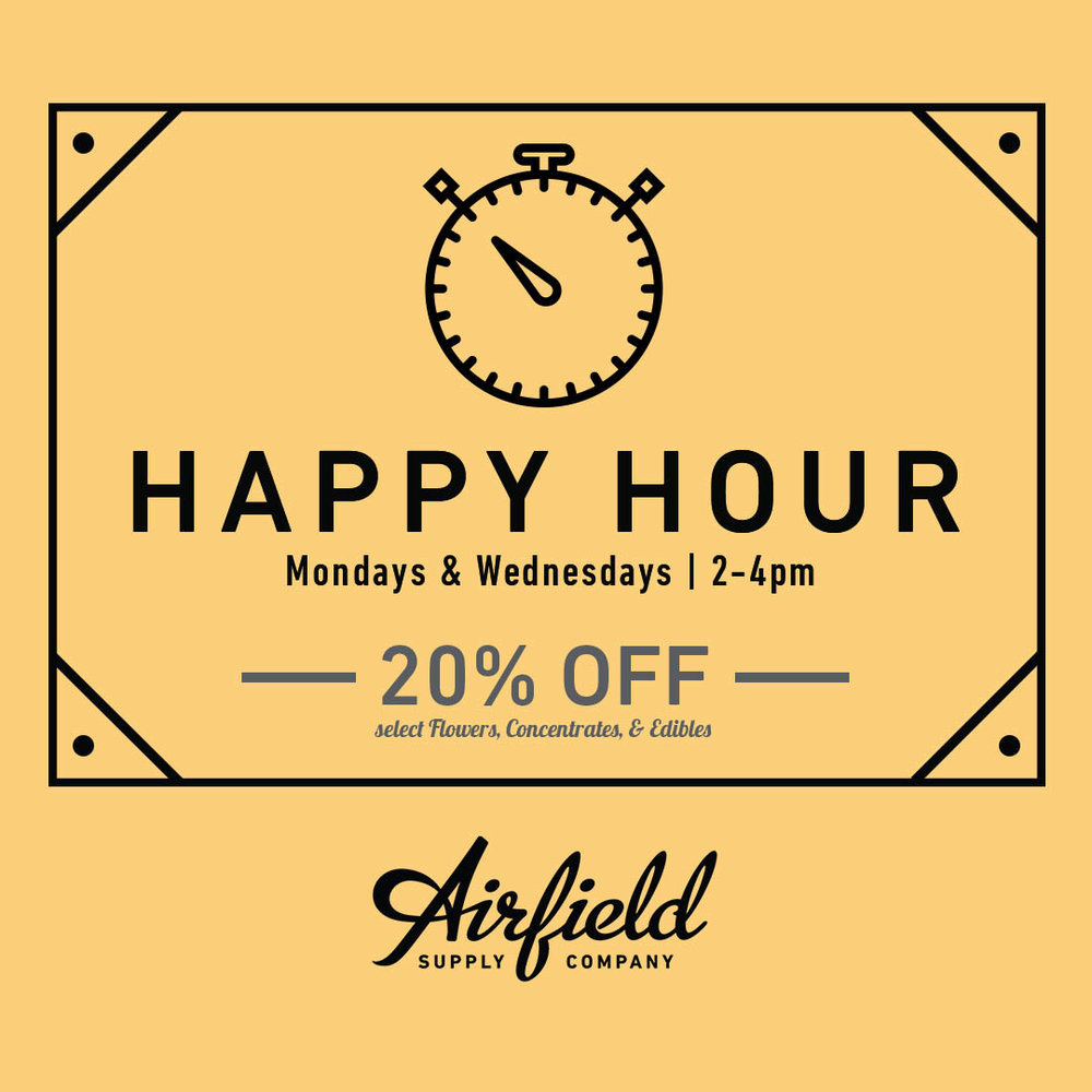 Airfield Supply Company Happy Hour