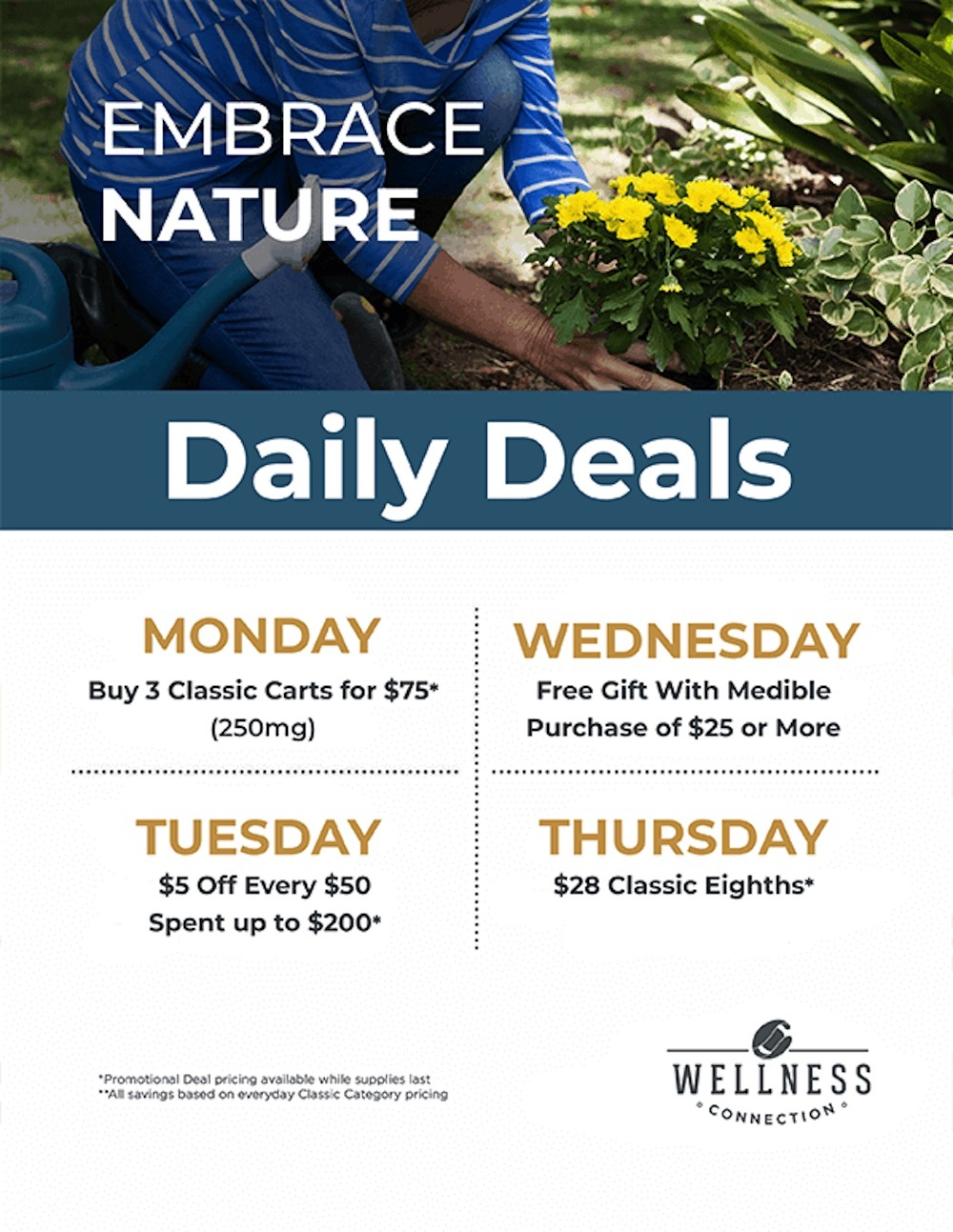wellness connection daily cannabis deals