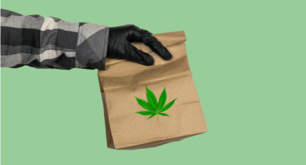 Cannabis delivery feature