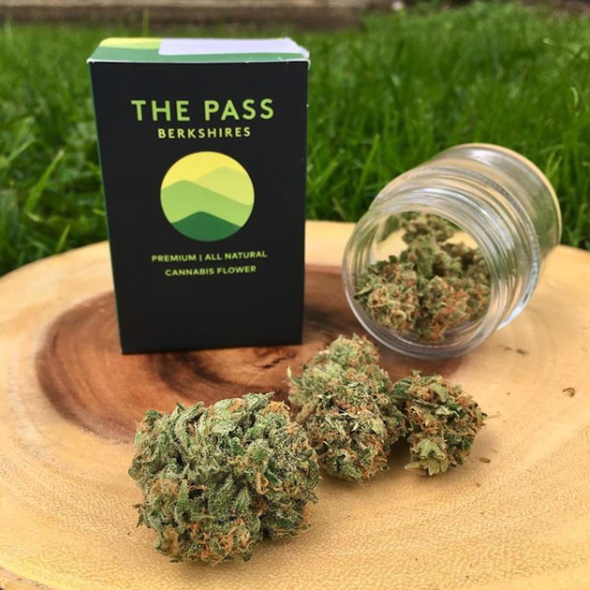 The Pass prepackaged cannabis flower