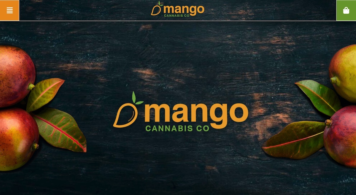 Mango Cannabis - Oklahoma - best dispensary website example