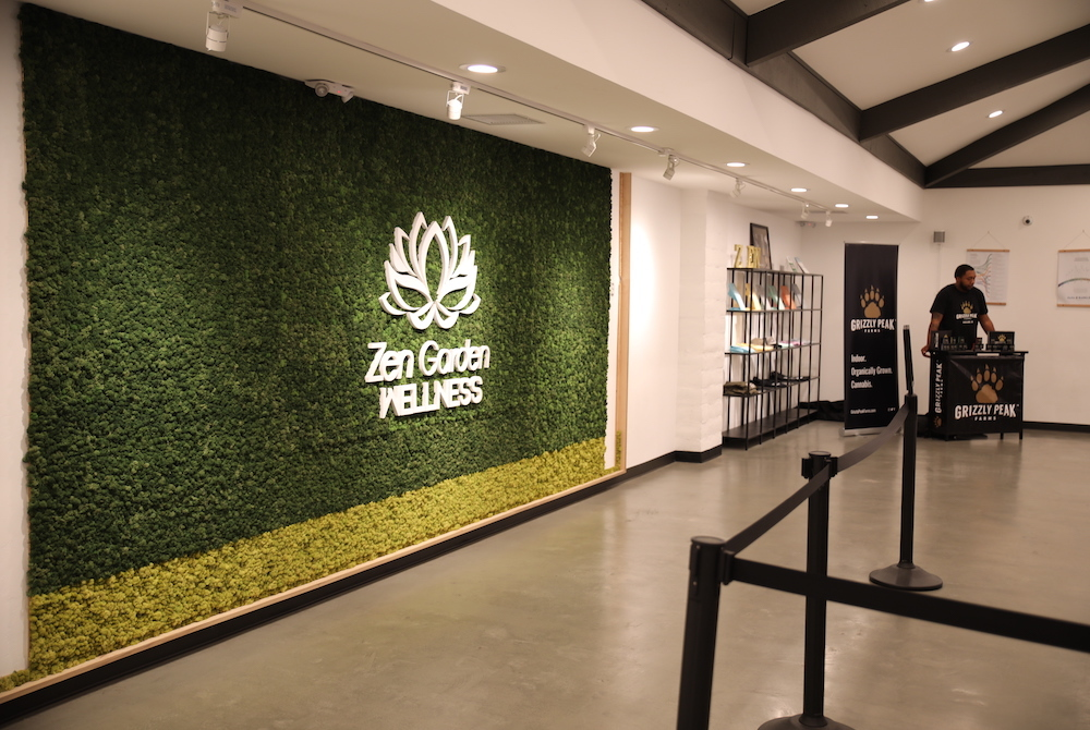 zen garden wellness dispensary front of house