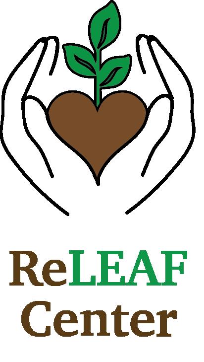 Re Leaf Center logo veritical