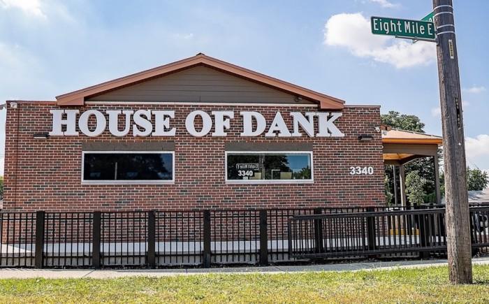House of Dank cannabis dispensary in Detroit Michigan