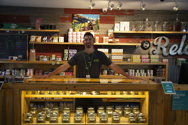 Brian Sullivan from The Green Joint dispensary in Colorado