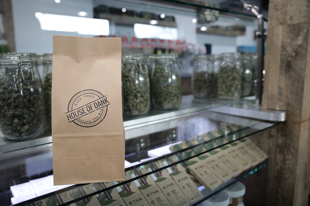 Inventory management at cannabis dispensary House of Dank