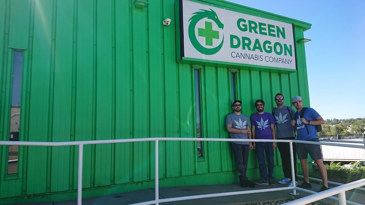 green dragon cannabis dispensary special