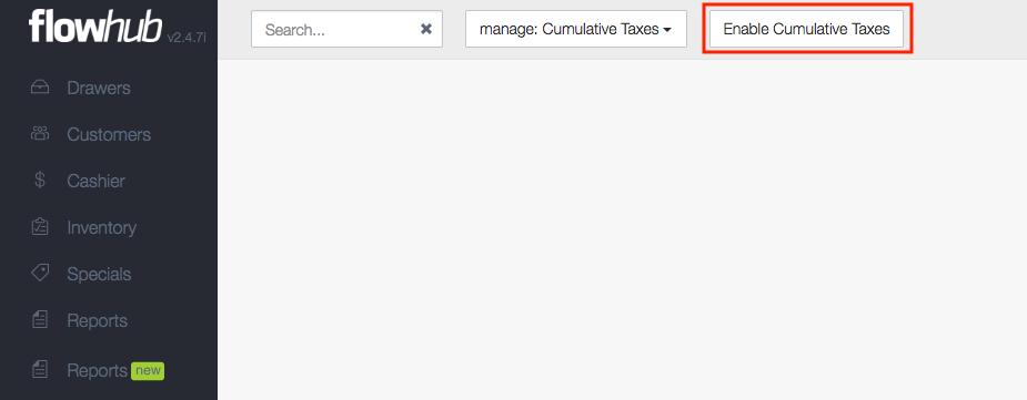 Enable Taxes
