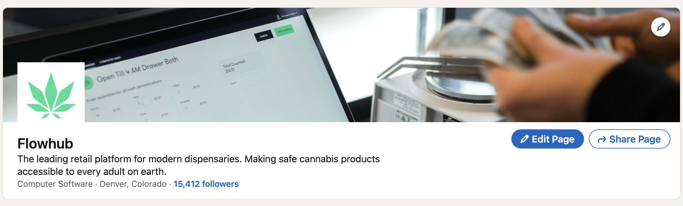How to set up your dispensary's LinkedIn profile