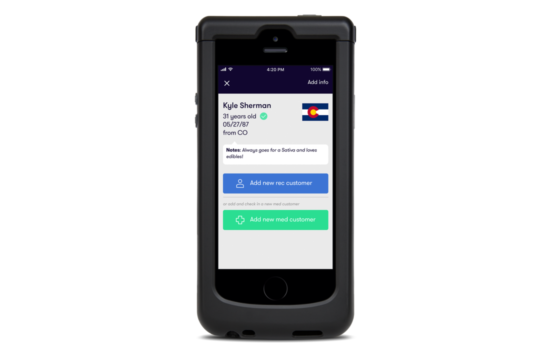 Nug cannabis dispensary mobile app