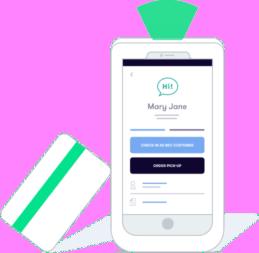 Flowhub cashier app on tablet