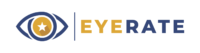 EYERATE LOGO WITH NAME