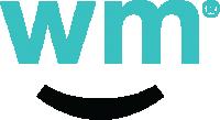 Weedmaps Logo Kit Short Mark Teal Text Blk Smile 3x