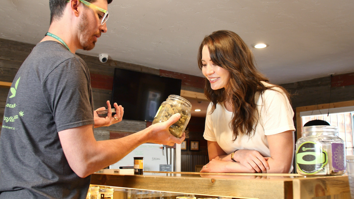 the green joint cannabis dispensary