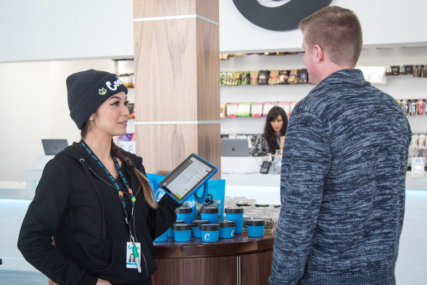 cannabis point of sale