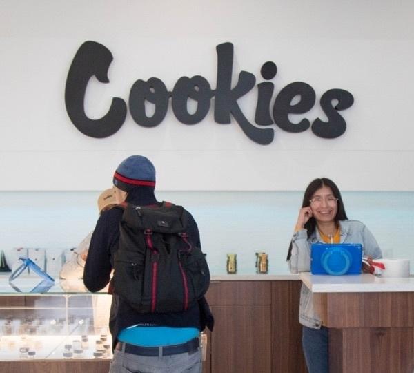 Cookies dispensary branding