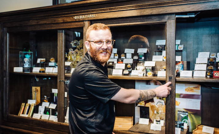 cannabis dispensary owner