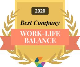 Work life balance 2020 small branded