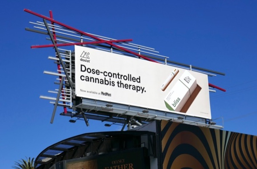 cannabis dispensary marketing billboard