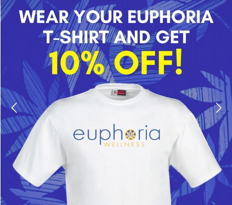 Euphoria T-shirt Special - 10% off