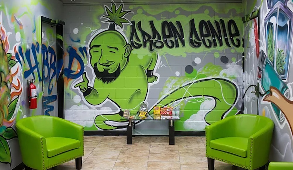 green genie sunday cannabis special