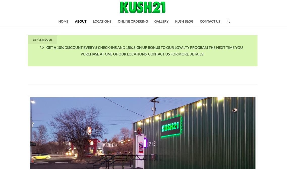 kush21 loyalty program