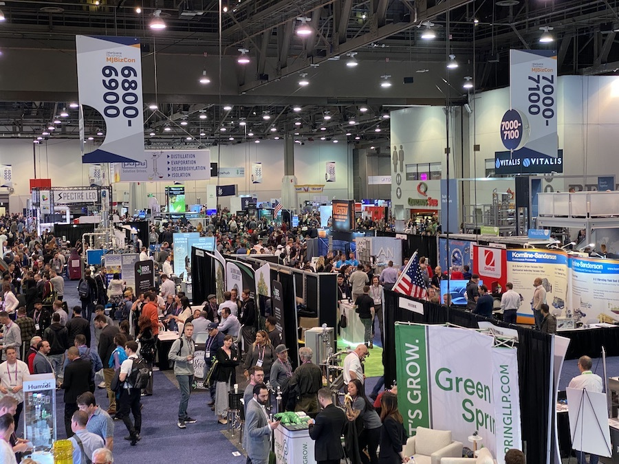 mjbizcon expo cannabis industry